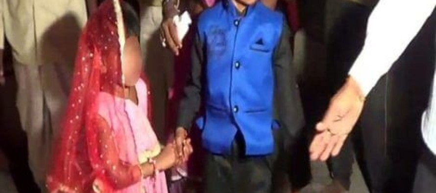 SHOCKING MOMENT Caught On Video, When Child Bride Meets Her Husband – Her Response? No Words…