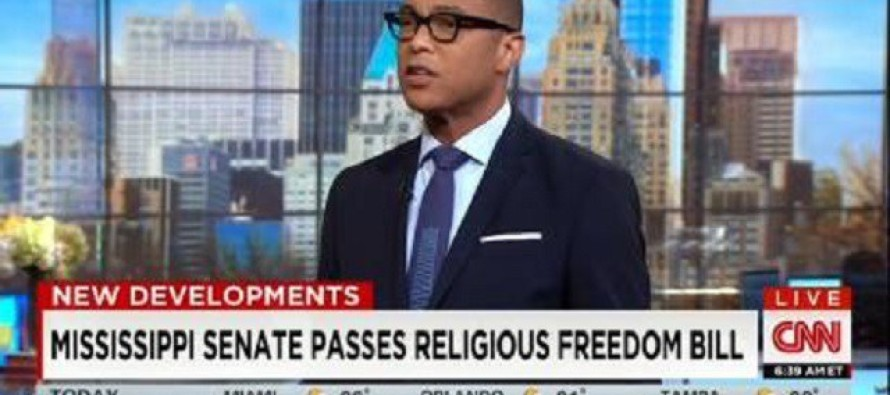 """CNN Anchor Has Nerve To Call """"Religious Liberty"""" A Code Word For """"Discrimination"""" – Then This…"""