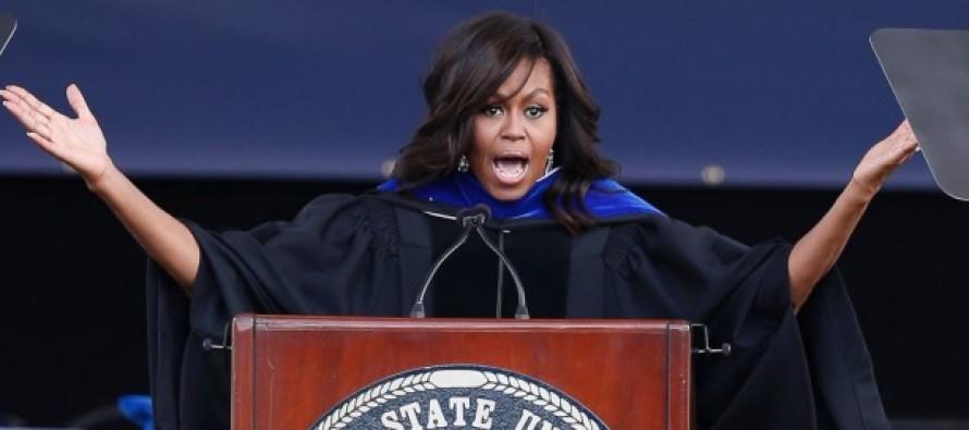 Michelle Obama Shamelessly Targets Mississippi 'Religious Freedom' Bill in Commencement Speech