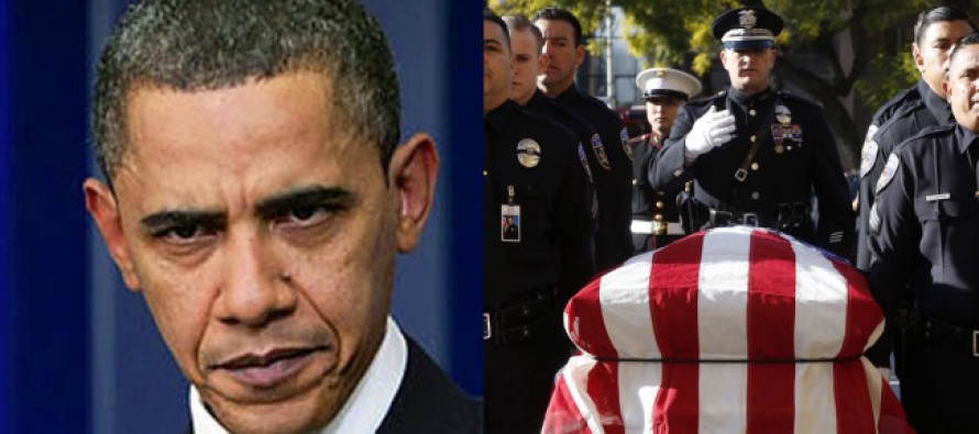 **BREAKING** OBAMA Just Made THIS Announcement – At The Cost Of Cop Lives!