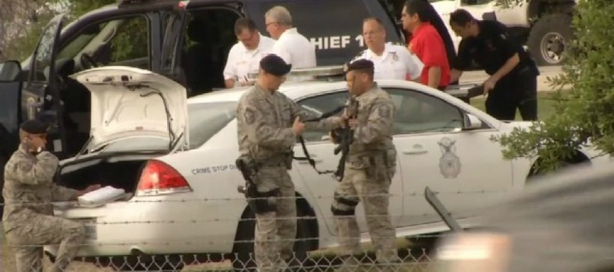 BREAKING: Report Of Active SHOOTER At US Air Force Being Made – Police Are Responding!