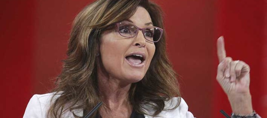 It's Finally Happening: Sarah Palin Files Suit Against New York Times