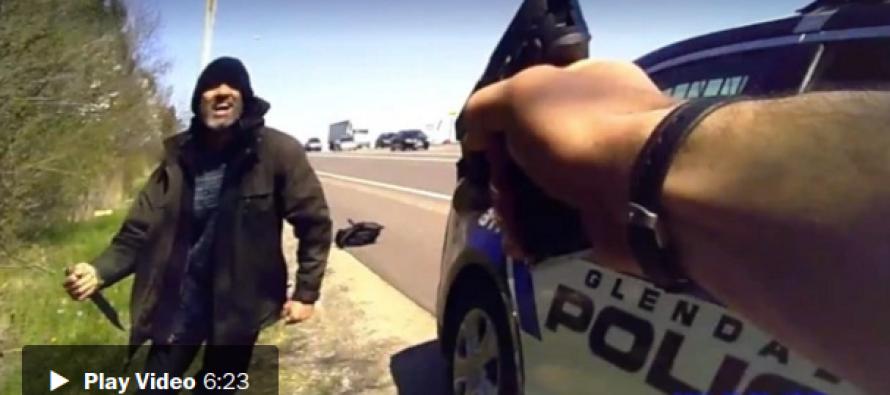VIDEO: Man Screams 'Kill Me' at Cop 40 Times… Then THIS Happens