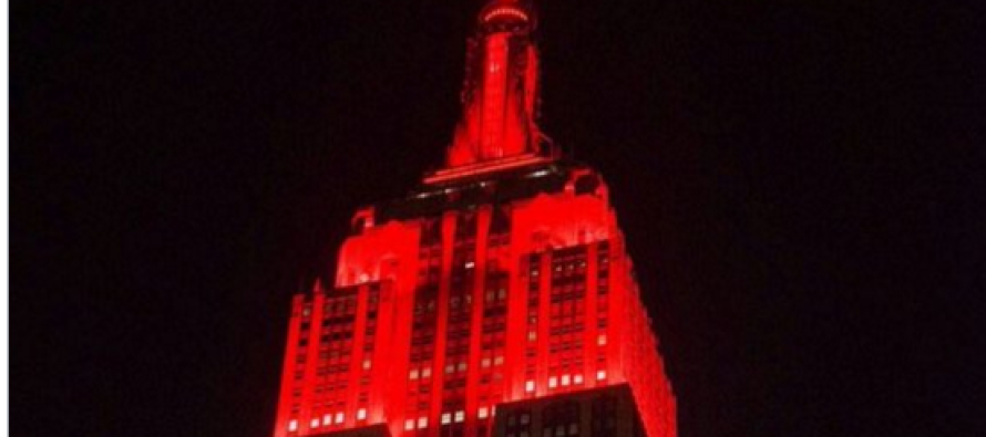 Empire State Building Lights Up to Celebrate Trump Win… Then People Notice THIS [VIDEO]