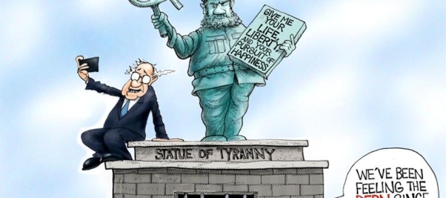 Bernie Is My Comrade (Cartoon)