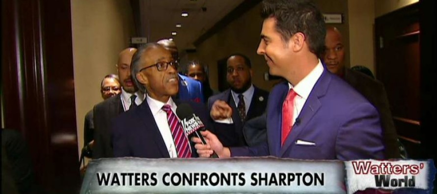 HILARIOUS Jesse Waters Gets Al Sharpton HEATED With Just A Few FACTS And A BIG Smile – WATCH!