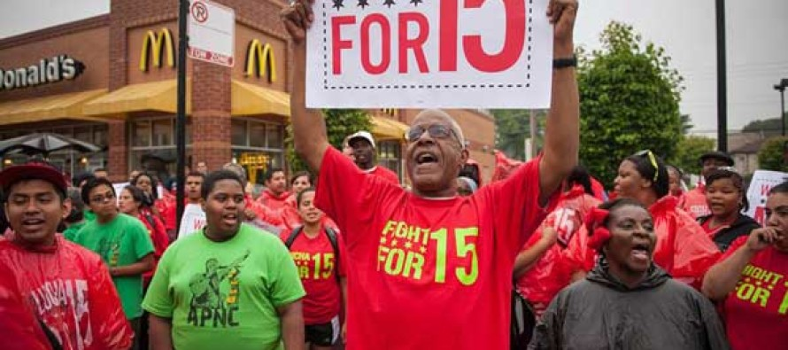 Liberals Push For A $15 Minimum Wage and McDonald's is Responding By Doing This