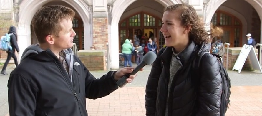 VIDEO: College Students Tell a Short White Man He Can Identify as a Tall Chinese Woman