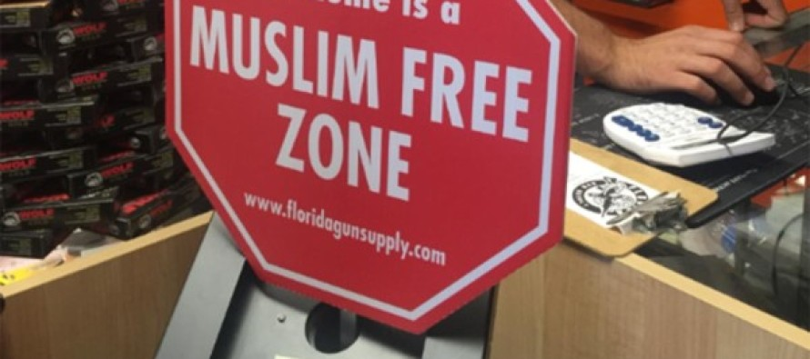 "Liberals FREAK OUT After Veteran Sets Up A ""Muslim Free"" Zone"