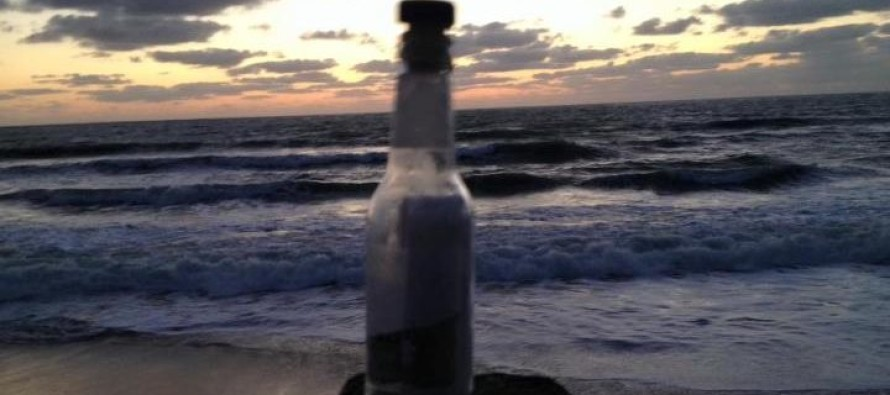 A Man Finds A Message In A Bottle And What He Read Will Break Your Heart