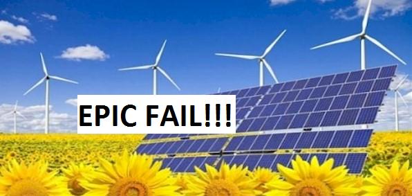 failed solar company