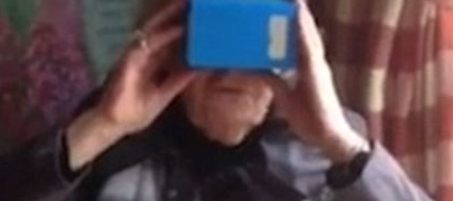 Irish grandmother rides her first ever 'rollercoaster' thanks to a virtual reality headset [VIDEO]