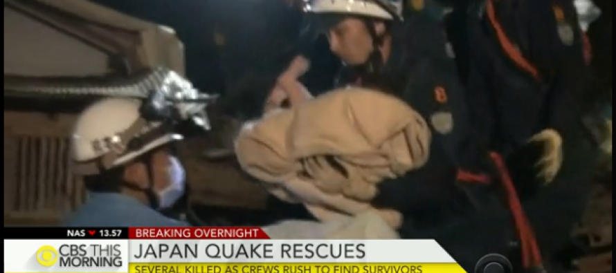Baby Pulled From Japan Quake Rubble As Aftershocks Hinder Rescues