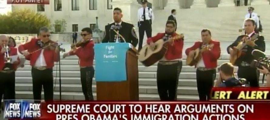 UNBELIEVABLE: Illegal Aliens Swarm Supreme Court — for Amnesty [VIDEO]