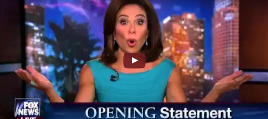 BOOM: Judge Jeanine Goes NUCLEAR on Live TV, Makes Massive Statement on Trump