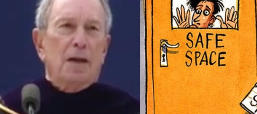 Michael Bloomberg Destroys 'Safe Spaces' Concept in College Commencement Speech