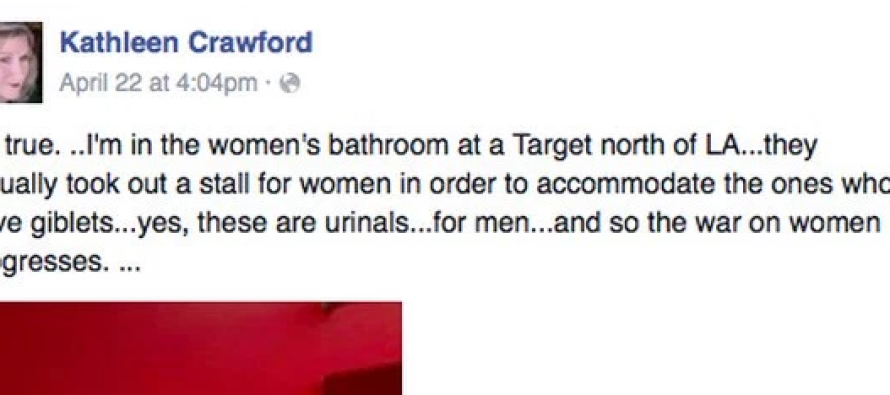 **BREAKING UPDATE** Target ALREADY Installing Urinals In Women's Bathrooms- Customer Claims With THIS Proof!