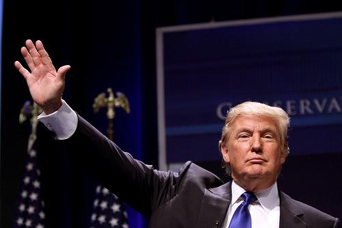 trumps a bigot and a racist