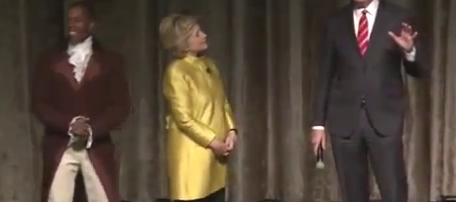 Hillary Makes Cringe-Worthy Joke About 'Colored People'