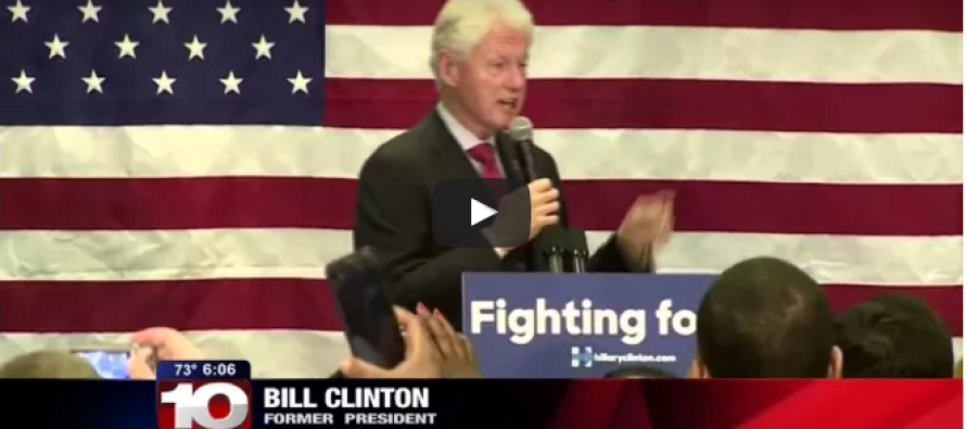 HAH! Bill Clinton Slams Obama in the Best Way Possible