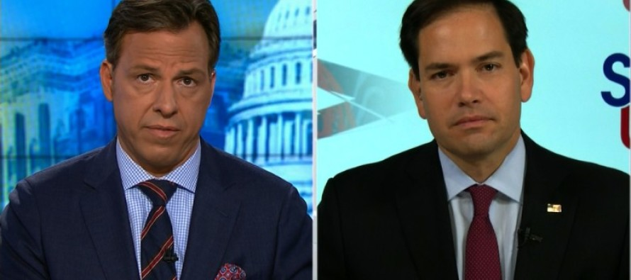 Rubio's Trump Comparison Has People Seeing Red