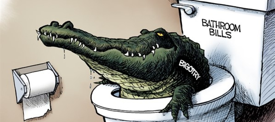 Potty Politics (Cartoon)
