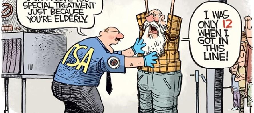 TSA Lines (Cartoon)