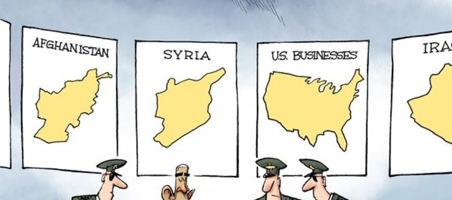 War on Business (Cartoon)