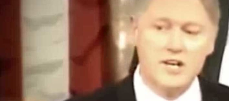 Damning Video from Bill Clinton's Past Surfaces… Things Are About to Get MESSY