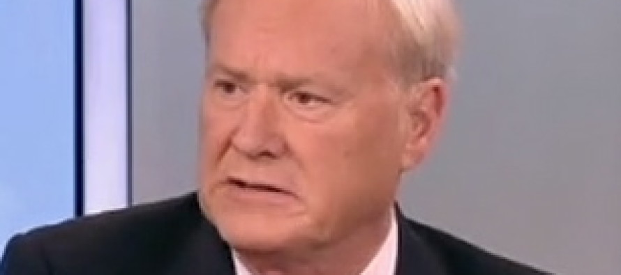 Chris Matthews Says Something SHOCKING About Melania Trump when He Thinks Mic Is Off [VIDEO]