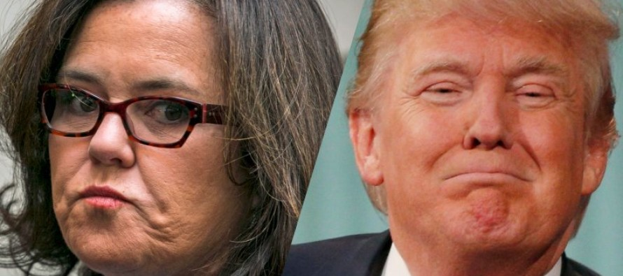 Rosie O'Donnell Says Trump's Mouth 'Looks Like an Anus'… Then THIS Happens