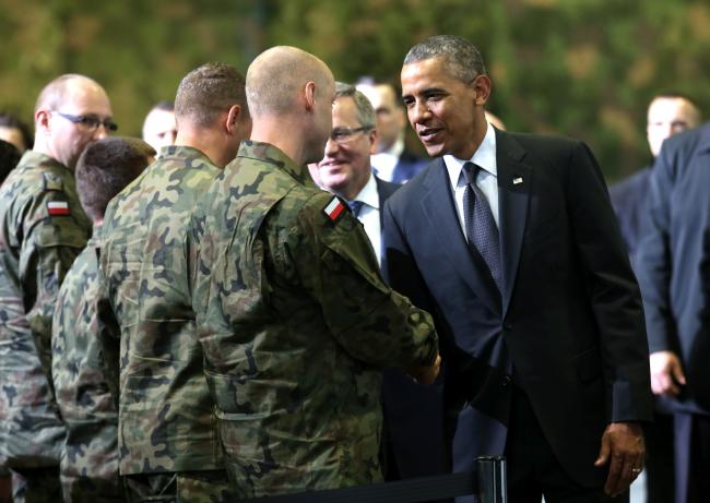 Barack Obama Bronis³aw Komorowski