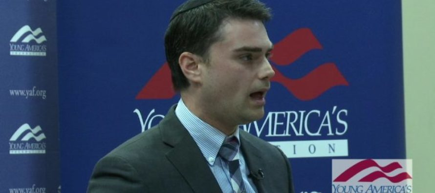 VIDEO: Professor Calls Ben Shapiro A 'Neo-Nazi' – Wants To Do THIS To Conservative Speakers