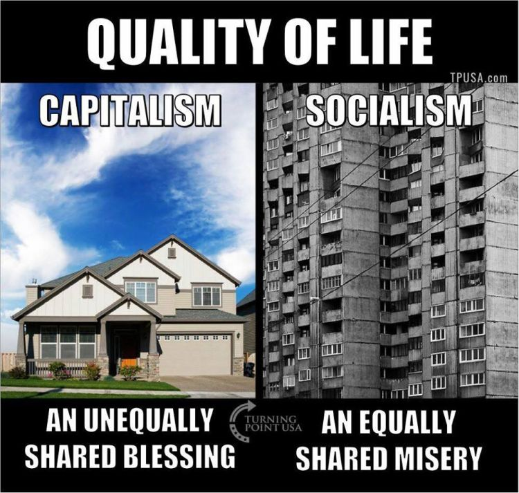 Capitalism VS Socialism 750