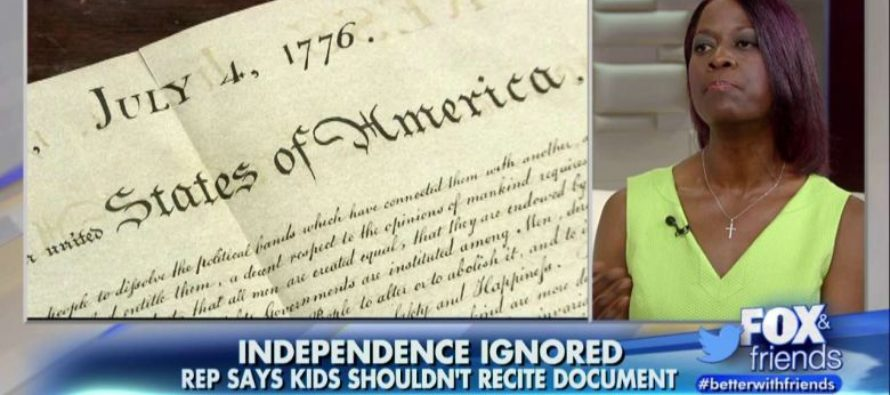 State Rep. Makes OUTRAGEOUS Claim About The Declaration Of Independence [VIDEO]