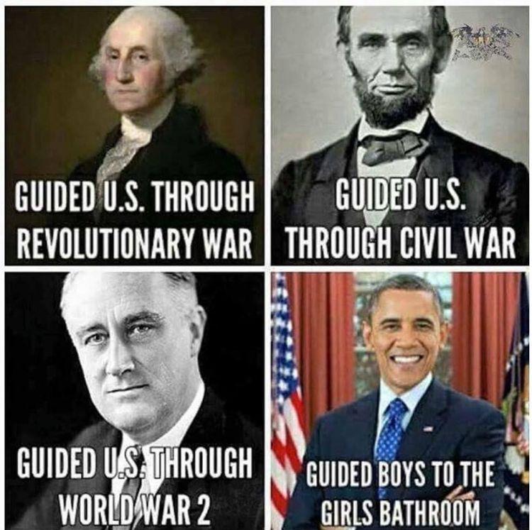 Evolution of Presidents 750