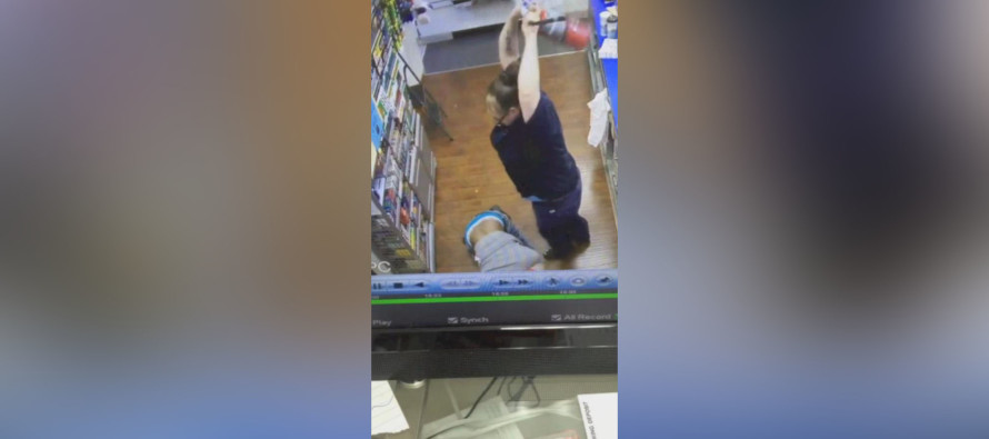 VIDEO: You Won't BELIEVE What It Took To Stop This Robber!