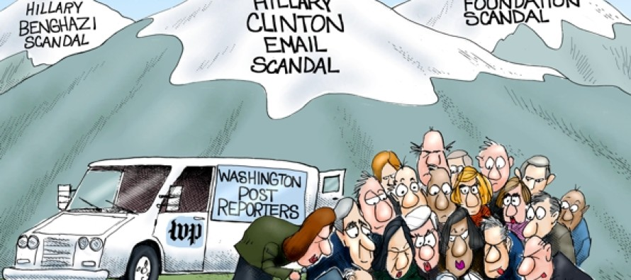 The Hills Are Alive with the sound of Scandals (Cartoon)