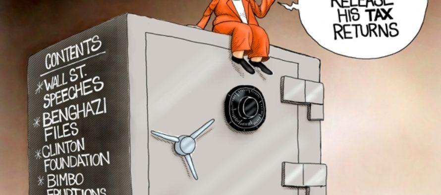Hillary's Safe Space (Cartoon)