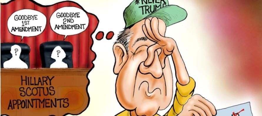 Never-Trump Smell Test (Cartoon)