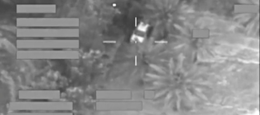 VIDEO: ISIS hides vehicle in trees and something goes BOOM!