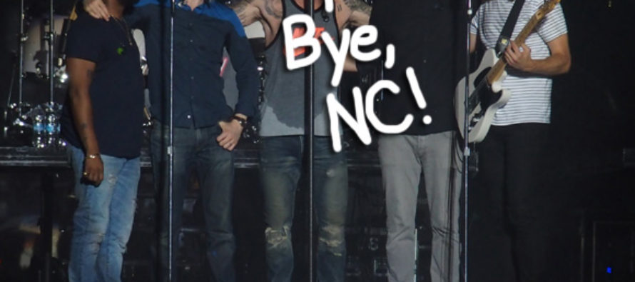 Maroon 5 CANCELS On North Carolina Fans – Over LGBT Bill