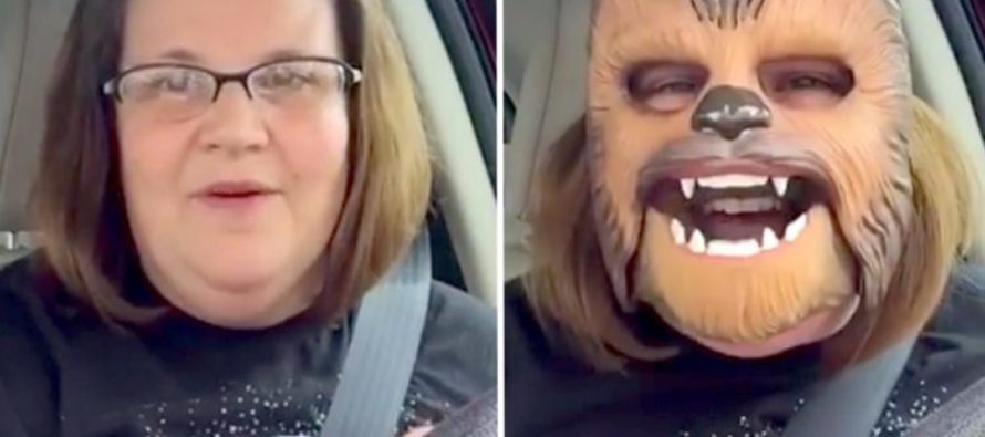 Watch This Woman Prove That You Can't Be Serious All The Time [VIDEO]
