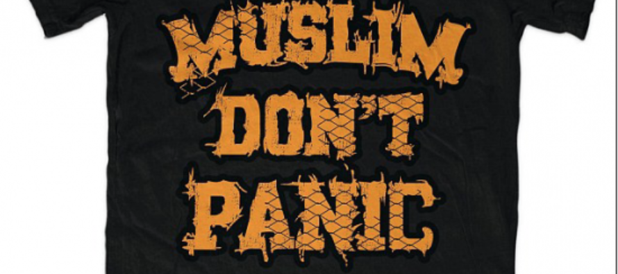 Iraqi migrant wears a Muslim t-shirt, what happens next is terrifying