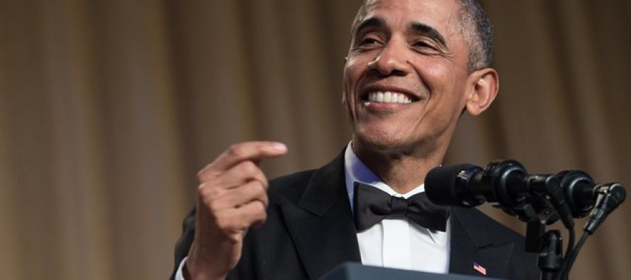 Obama Clowned On Trump  At Correspondents' Dinner – Now, Trump's Son Responds