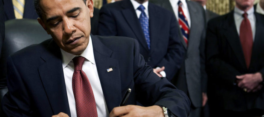 While We Were All Focused on the Election, Obama Quietly Did THIS…