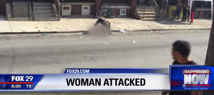 Philly Man Beats Woman In The Street – Bystanders' Reactions Are SHOCKING [VIDEO]