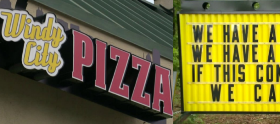 Liberals FURIOUS Over 'Helpful' Bathroom Sign Posted By Virginia Pizza Shop [VIDEO]