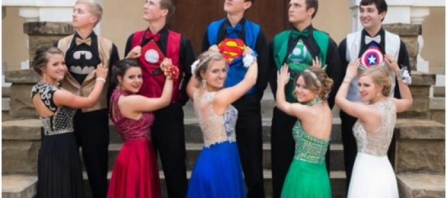 Hilarious Prom Picture Goes Viral – Here's How It Offends Liberals