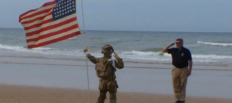 Little Boy Salutes America's Fallen Heroes In A Way No One Has Ever Done Before… [VIDEO]